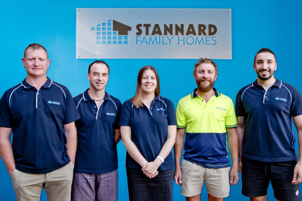 Stannard Family Homes crew